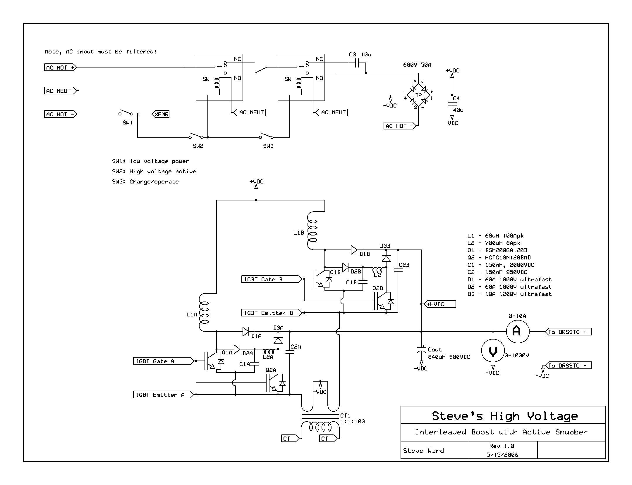 12kw Pfc Boost Converter