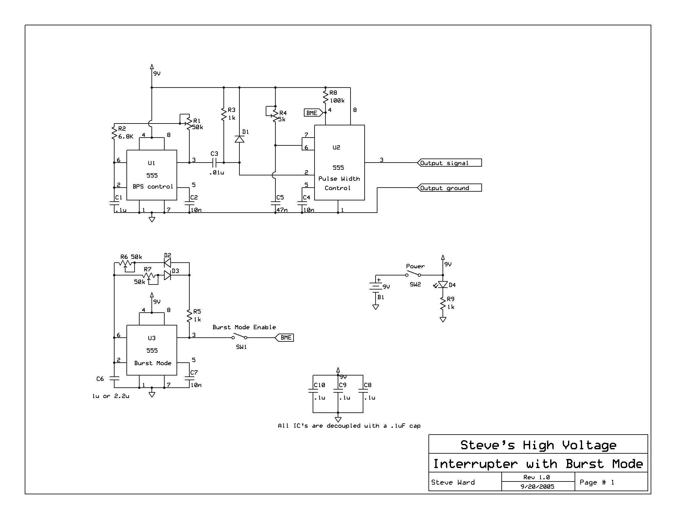 drsstc 主驱动及其灭弧电路pcb下载