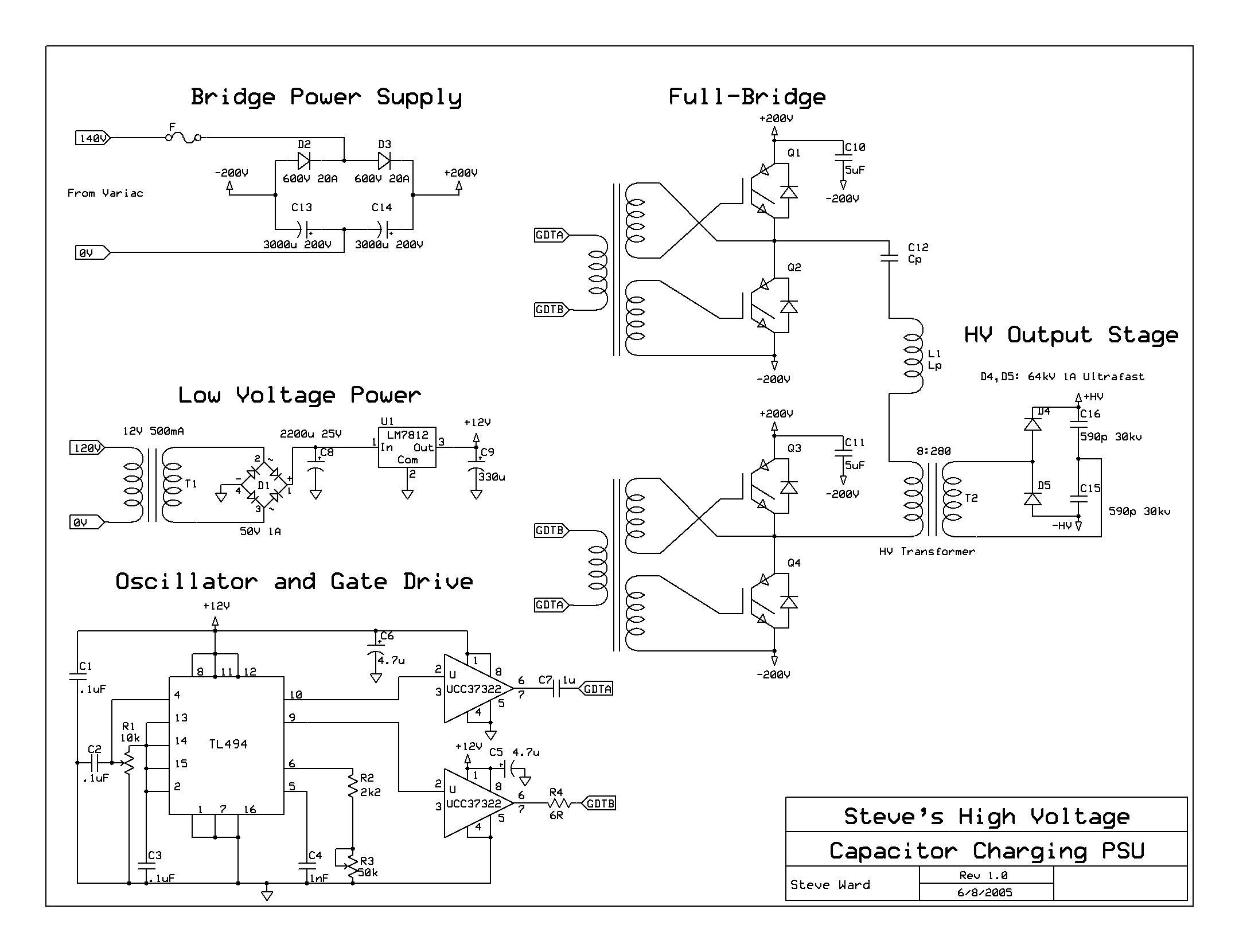 Forums High Voltage Flyback Driver Half Bridge H Circuit Diagram Mosfet